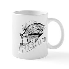 Bluegill Fish on black Mug