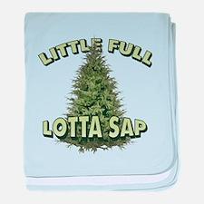 Little Full Lotta Sap baby blanket