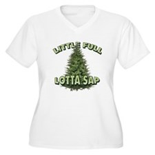 Little Full Lotta Sap Plus Size T-Shirt