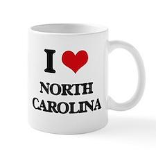 I Love North Carolina Mugs