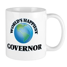 World's Happiest Governor Mugs