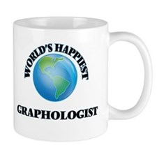 World's Happiest Graphologist Mugs