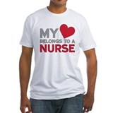 Nurse Fitted Light T-Shirts