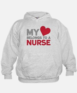 My Heart Belongs to A Nurse Hoodie