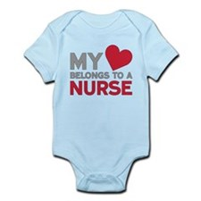 My Heart Belongs to A Nurse Body Suit
