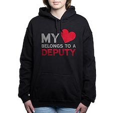 My Heart Belongs to A De Women's Hooded Sweatshirt
