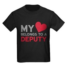 My Heart Belongs to A Deputy T-Shirt