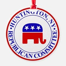 Huntington Gop Ornament