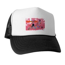 Bella Loves Pink Trucker Hat