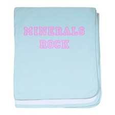 Minerals Rock baby blanket