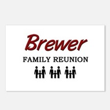 Brewer Family Reunion Postcards (Package of 8)