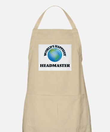 World's Happiest Headmaster Apron