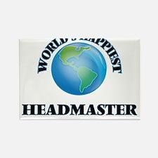 World's Happiest Headmaster Magnets