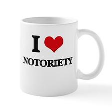 I Love Notoriety Mugs