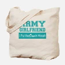 Unique Army girlfriend Tote Bag