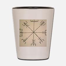 Asatru Compass Shot Glass