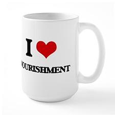 I Love Nourishment Mugs