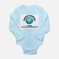World's Happiest Higher Education Admini Body Suit