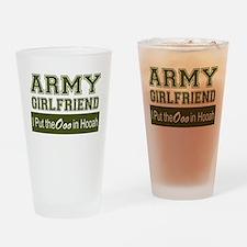 Cute Military girlfriend Drinking Glass