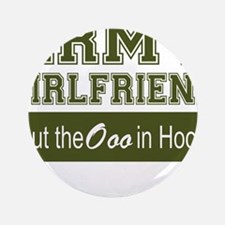 "Cute Army girlfriend 3.5"" Button (100 pack)"