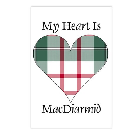 Heart-MacDiarmid dress Postcards (Package of 8)