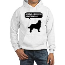 Rescue a Bernese Mountain Dog Hoodie