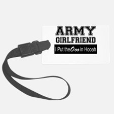 Army Girlfriend Ooo in Hooah_Bla Luggage Tag