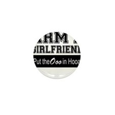Army Girlfriend Ooo in Hooah Mini Button (10 pack)