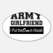 Army Girlfriend Ooo in Hooah_Black Decal