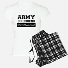Army Girlfriend Ooo in Hooa Pajamas