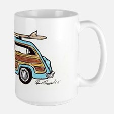 Light Blue Woody Large Mug