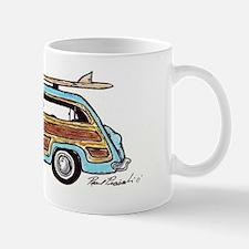 Light Blue Woody Mug