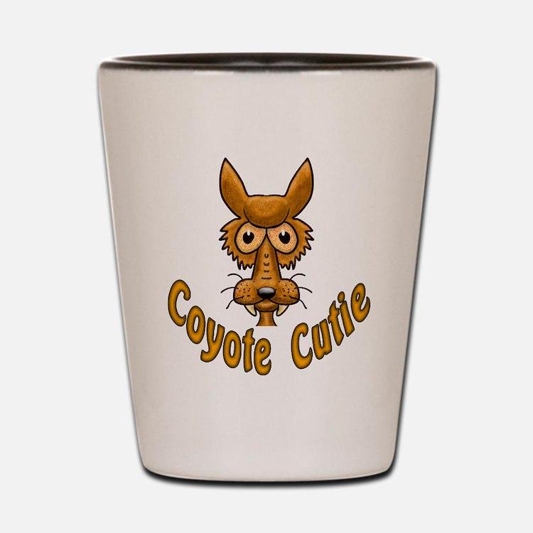 Coyote Cutie Shot Glass