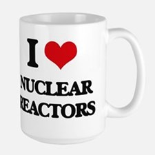 I Love Nuclear Reactors Mugs