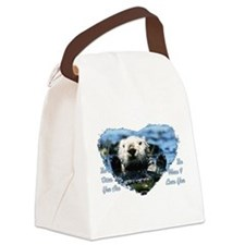 The Otter You Are Canvas Lunch Bag
