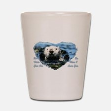 The Otter You Are Shot Glass