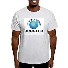 World's Happiest Juggler T-Shirt