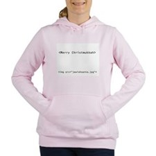 geekchristmukkah.png Women's Hooded Sweatshirt