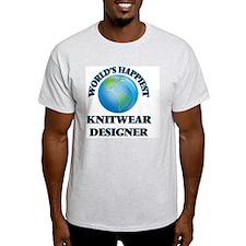World's Happiest Knitwear Designer T-Shirt