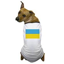 Ukranian Flag Heritage Dog T-Shirt
