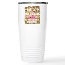 Funny Dumpster diving Travel Mug