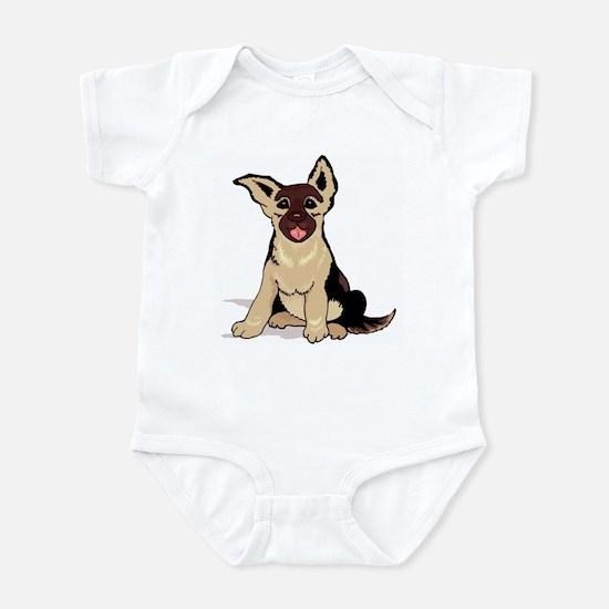 German Shepherd Pup Infant Creeper