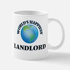 World's Happiest Landlord Mugs