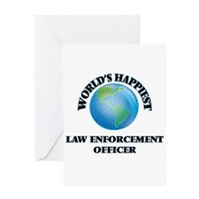 World's Happiest Law Enforcement Of Greeting Cards