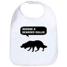 Rescue a Bearded Collie Bib