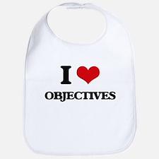 I Love Objectives Bib