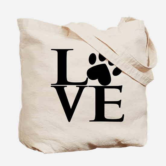 Animal LOVE (both sides) Tote Bag