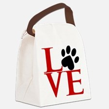 Animal LOVE Canvas Lunch Bag