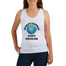 World's Happiest Loan Officer Tank Top