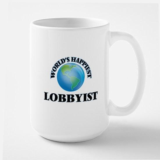 World's Happiest Lobbyist Mugs